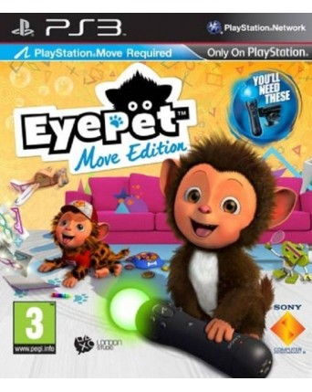 Eye Pet Ps3 NAUDOTAS