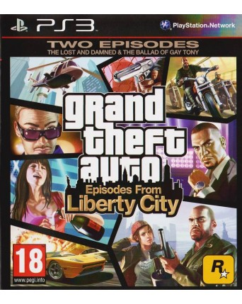Grand Theft Auto Episodes From Liberty City Ps3 NAUDOTAS