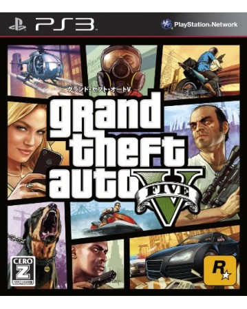 Grand Theft Auto V Ps3 NAUDOTAS