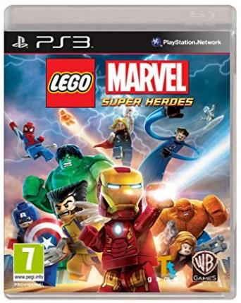 LEGO Marvel Super Heroes Ps3 NAUDOTAS