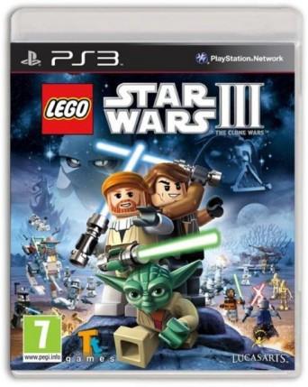 Lego Star Wars III Ps3 NAUDOTAS