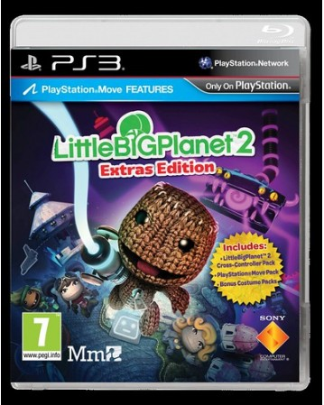 Little Big Planet 2 Extras  Edition Ps3 NAUDOTAS