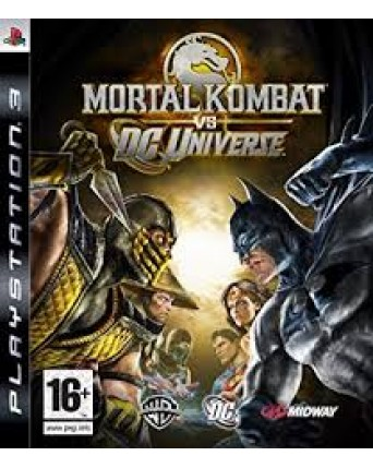 Mortal Kombat VS DC Universe Ps3 NAUDOTAS
