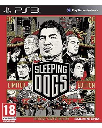 Sleeping Dogs Ps3 NAUDOTAS