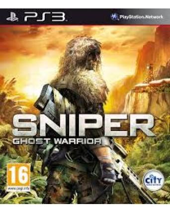 Sniper Ghost Warrior Ps3 NAUDOTAS