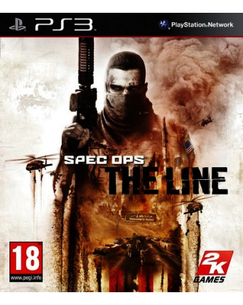 Spec ops the line ps3 naudotas