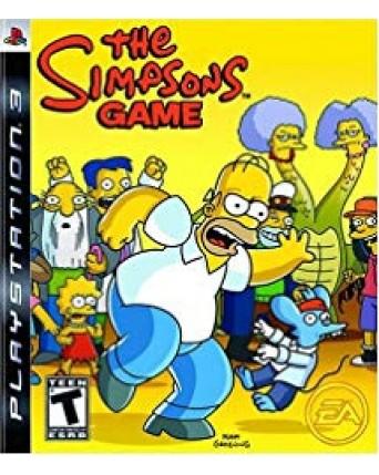 The Simpsons Game Ps3 NAUDOTAS