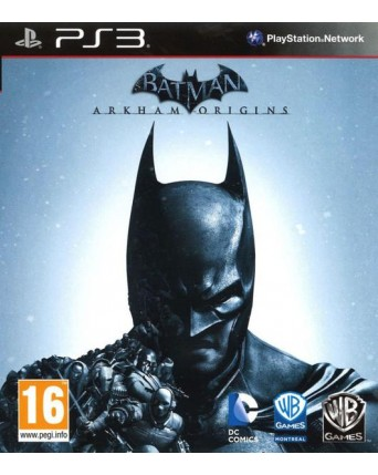 Batman Arkham Origins Ps3 NAUDOTAS