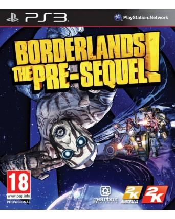 Borderlands The Pre-Sequel ps3 naudotas