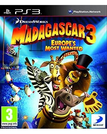 Madagascar 3 Europes most wanted ps3 naudotas