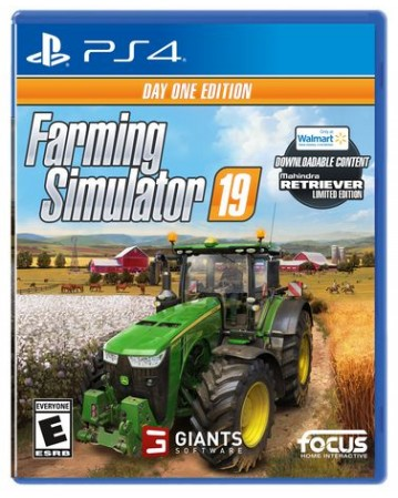 Farming Simulator 19 Day One Edition Ps4 NAUJAS