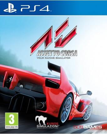Assetto Corsa Ps4 NAUDOTAS