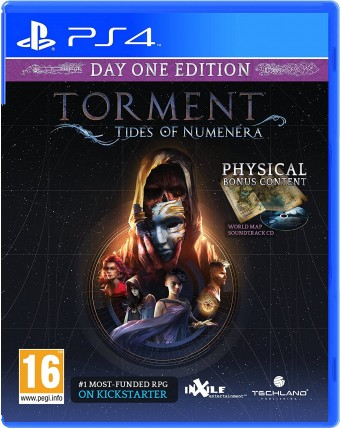 Torment: Tides Of Numenera PS4 NAUDOTAS