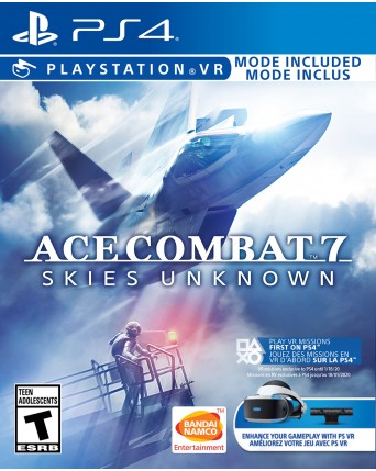 Ace Combat 7 Skies Unknown Ps VR NAUDOTAS