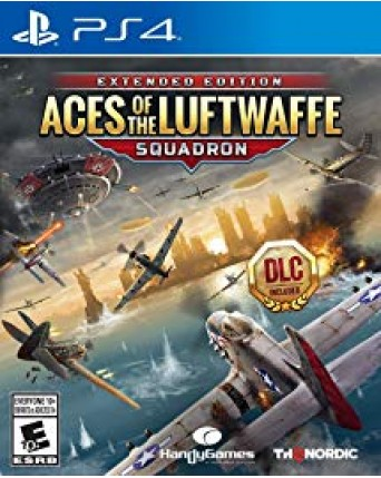 Aces Of The Luftwaffe Squadron Ps4 NAUJAS