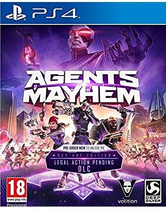 Agents Of Mayhem Ps4 NAUDOTAS