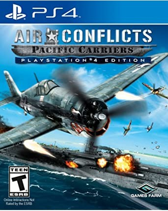 Air Conflicts Pacific Carriers PS4 NAUDOTAS