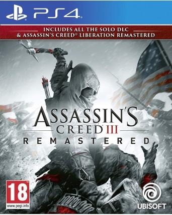 Assassins Creed III Remastered Ps4 NAUJAS