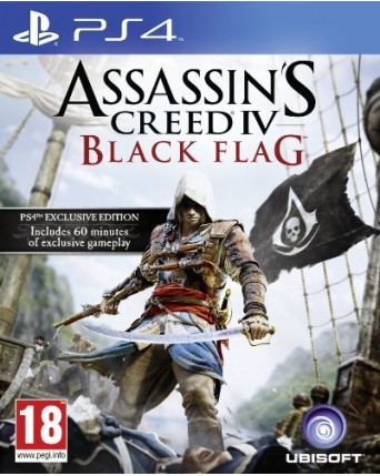 Assassins Creed IV Black Flag Ps4 NAUDOTAS