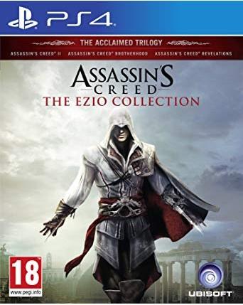 Assassins Creed The Ezio Collection Ps4 NAUDOTAS
