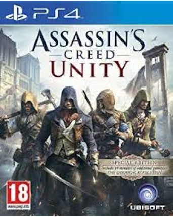 Assassins Creed Unity Ps4 NAUDOTAS