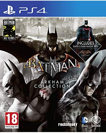 Batman Arkham Collection Steelbook Edition  Ps4 NAUJAS