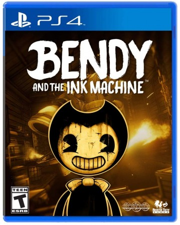 Bendy And The Ink Machine Ps4 NAUDOTAS