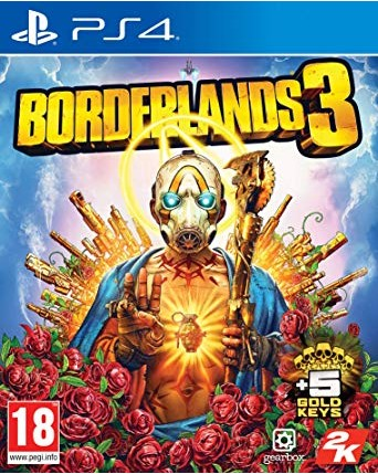 Borderlands 3 Ps4 NAUJAS
