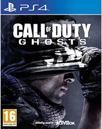 Call Of Duty Ghosts Ps4 NAUDOTAS