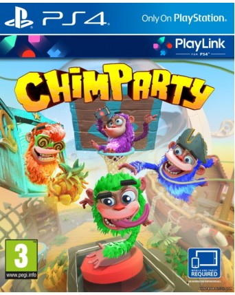 Chimparty Ps4 NAUJAS