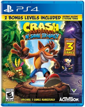 Crash Bandicot N Sane Trilogy Ps4 NAUJAS