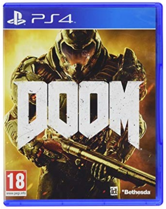 Doom Ps4 NAUDOTAS