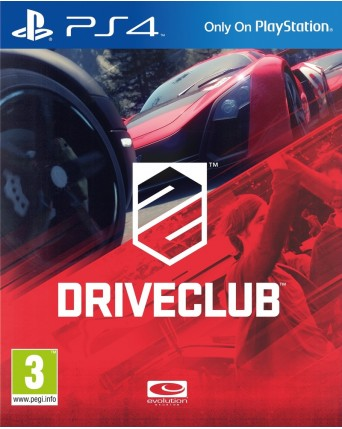 Drive Club Ps4 NAUDOTAS