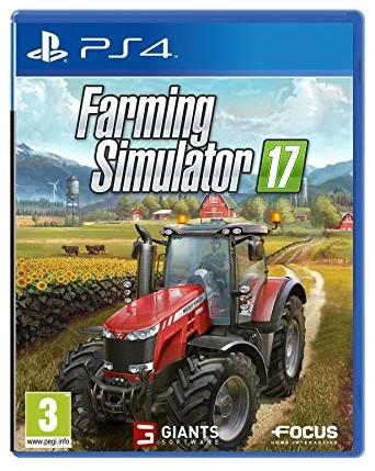 Farming Simulator 17 Ps4 NAUDOTAS