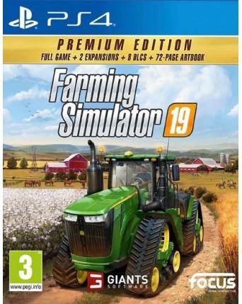 Farming Simulator 19 Premium Edition Ps4 NAUJAS