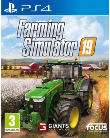 Farming Simulator 19 Ps4 NAUJAS