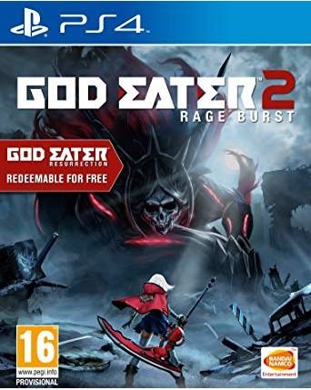 God Eater 2 Rage Burst Ps4 NAUDOTAS