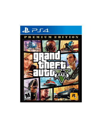 Grand Theft Auto V Premium Edition Ps4 NAUJAS