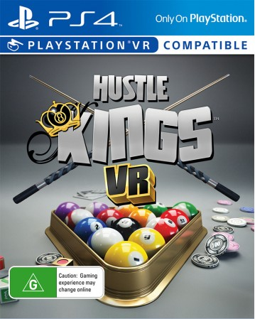 Hustle Kings PS VR NAUDOTAS