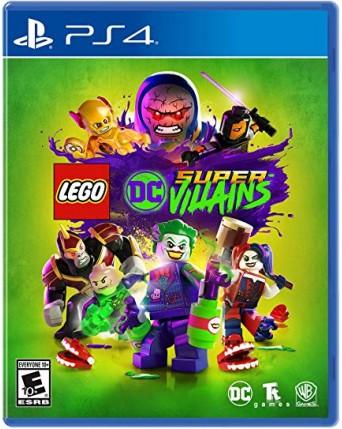 Lego Dc Super Villains Ps4 NAUDOTAS