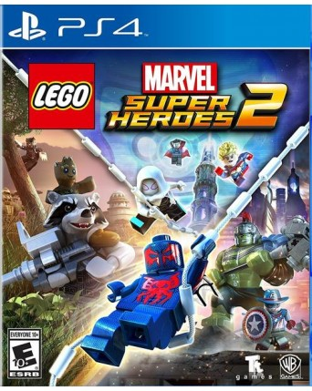 Lego Marvel Super Heroes 2 Ps4 NAUJAS