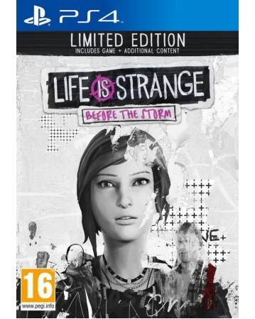 Life Is Strange Before The Storm Limited Edition Ps4 NAUDOTAS