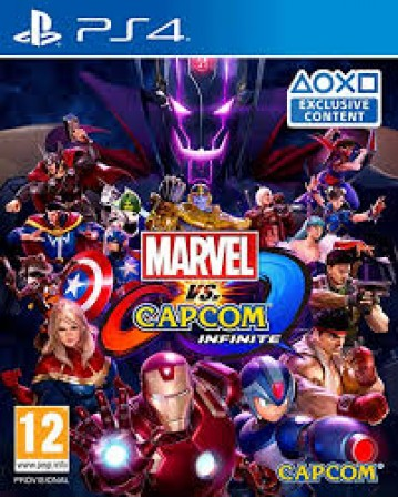 Marvel Vs Capcom Infinite Ps4 NAUDOTAS