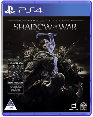 Middle Earth Shadow Of War Ps4 NAUJAS