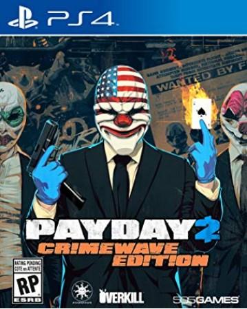 Payday 2 Ps4 NAUDOTAS