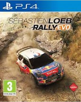 Sebastien Loeb Rally Ps4 NAUDOTAS