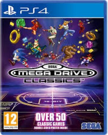 Sega Mega Drive Classics Ps4 NAUJAS
