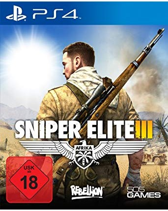 Sniper Elite III Ps4 NAUDOTAS