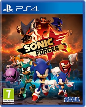 Sonic Forces Ps4 NAUJAS