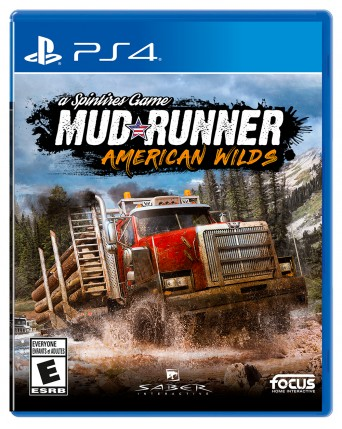Spintires Mudrunner American Wilds Ps4 NAUJAS